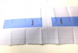 データー入稿頂いて、確認のために 出校する紙焼きです